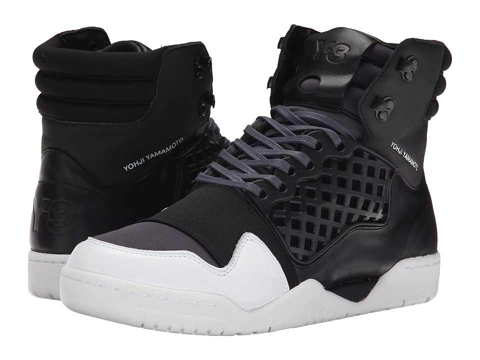 adidas Y-3 by Yohji Yamamoto - Held Enforcer (Periscope/Black/White) Men's Shoes