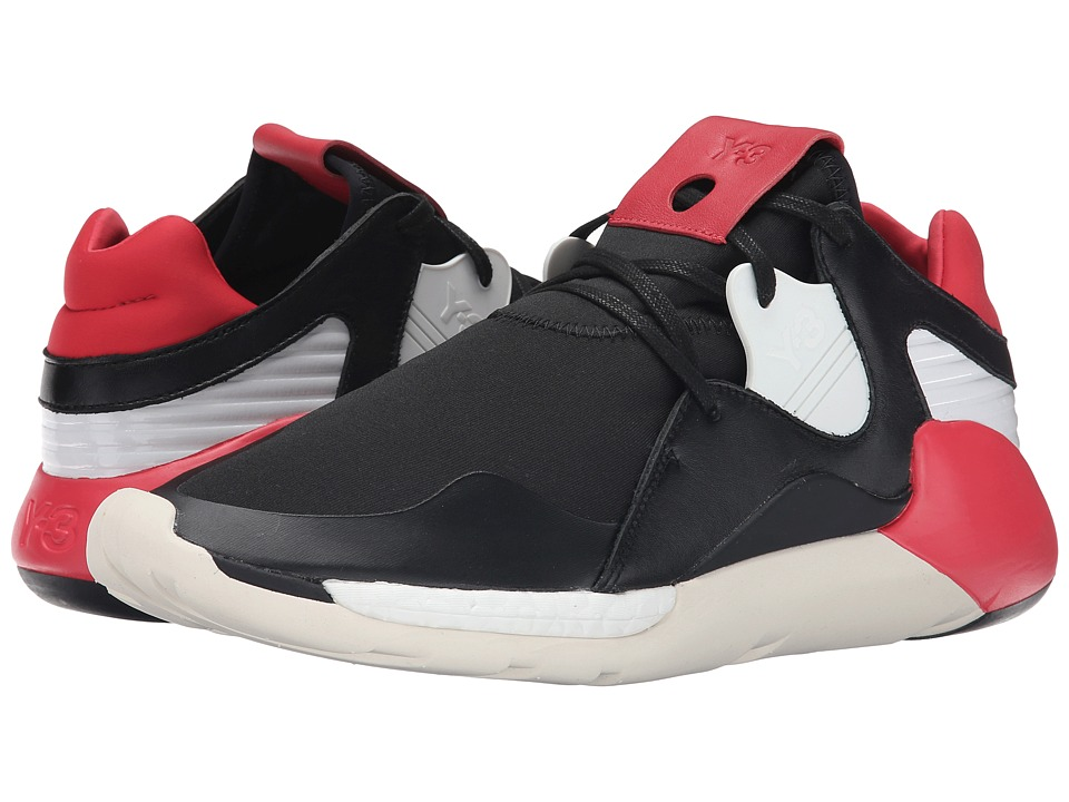 adidas Y-3 by Yohji Yamamoto - Boost QR (Roundel Red/Black/White) Men's Lace up casual Shoes