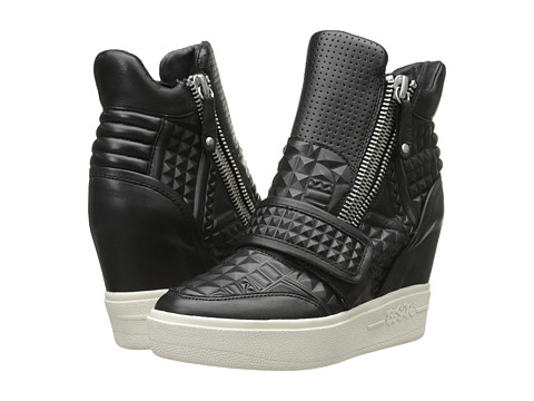 ASH - Action (Black Nappa Wax Suede/Synthetic) Women