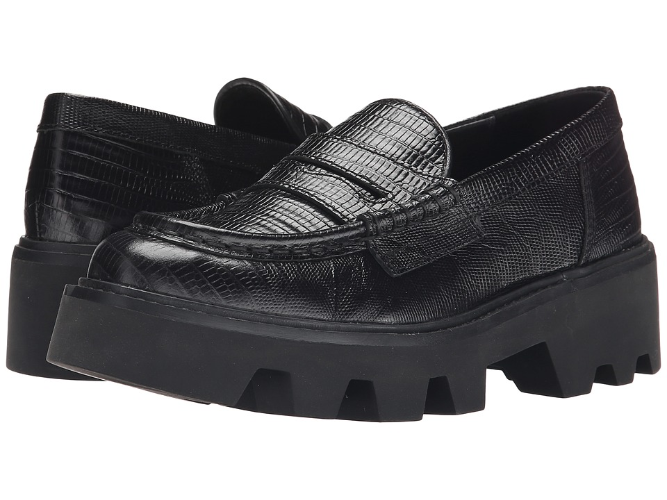 ASH - Serum (Black/Black Tejus Donez/Nappa) Women's Shoes