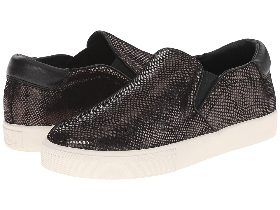 ASH - Impuls (Steel/Black Scale Metal/Nappa) Women's Slip on Shoes