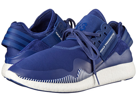adidas Y-3 by Yohji Yamamoto - Retro Boost (Roundel Blue/White) Men's Shoes