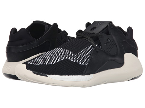 adidas Y-3 by Yohji Yamamoto - Boost QR Knit (Black) Men's Lace up casual Shoes