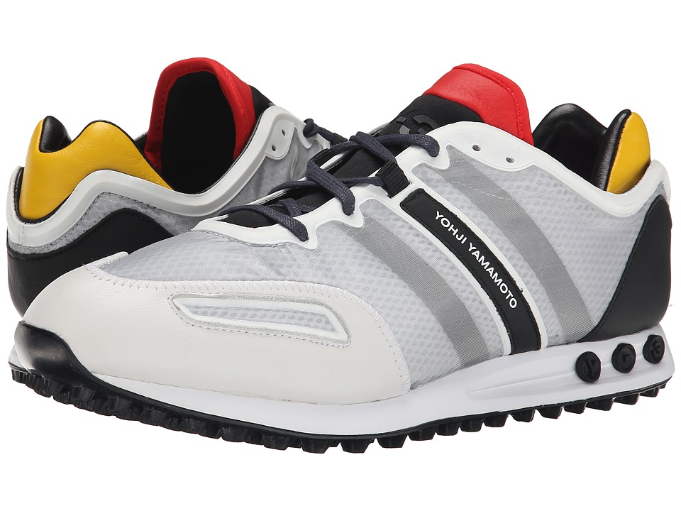adidas Y-3 by Yohji Yamamoto - Tokio Trainer (White/Black/Roundel Red) Men's Shoes