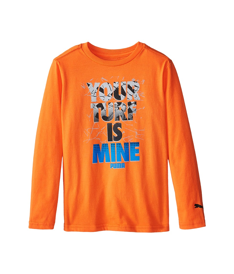 Puma Kids - Your Turf Is Mine (Big Kids) (Fire Orange) Boy