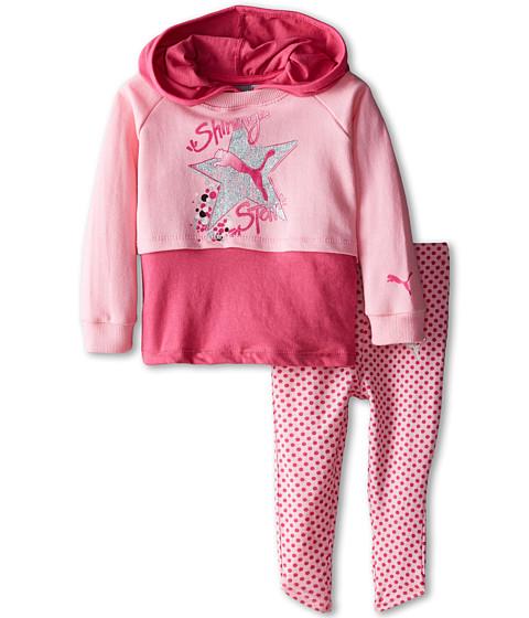 Puma Kids - Mock Twofer Leggings Set (Infant) (Pink Glo) Girl