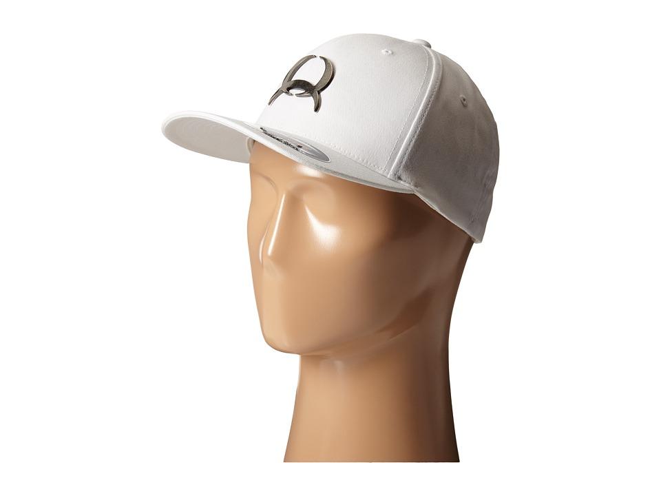 Cinch - Mid-Profile 3D Raised (White) Caps