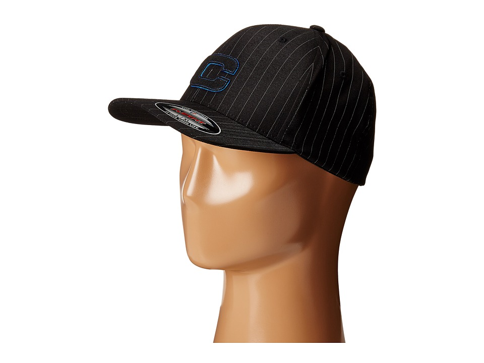 Cinch - Pinstripe Mid-Profile (Black 1) Caps