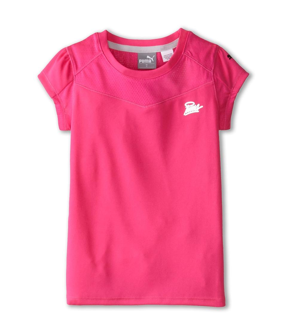 Puma Kids - Forever Faster Tech Top (Little Kids) (Pink Glo) Girl