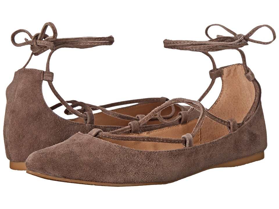 Steve Madden Eleanorr (Taupe Suede) Women