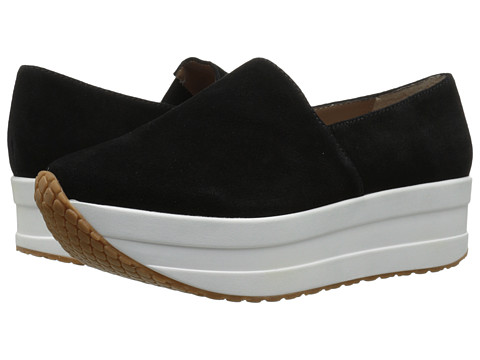 Steve Madden - Scooter (Black Suede) Women's Slip on Shoes