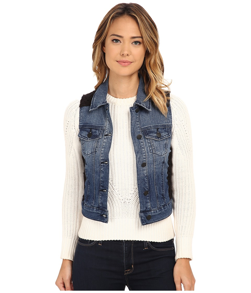 Cruel - Denim Vest (Indigo) Women