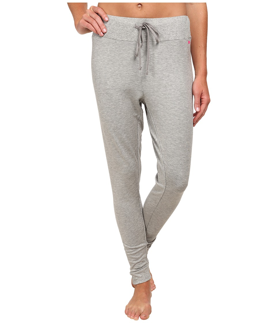 Pink Lotus - Color Me Ombre Don't Sweat It Sweatpants (Heather Gray) Women's Casual Pants