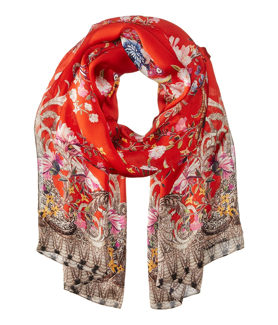 Roberto Cavalli - Ducale 70 x 180 Scarf (Red) Scarves