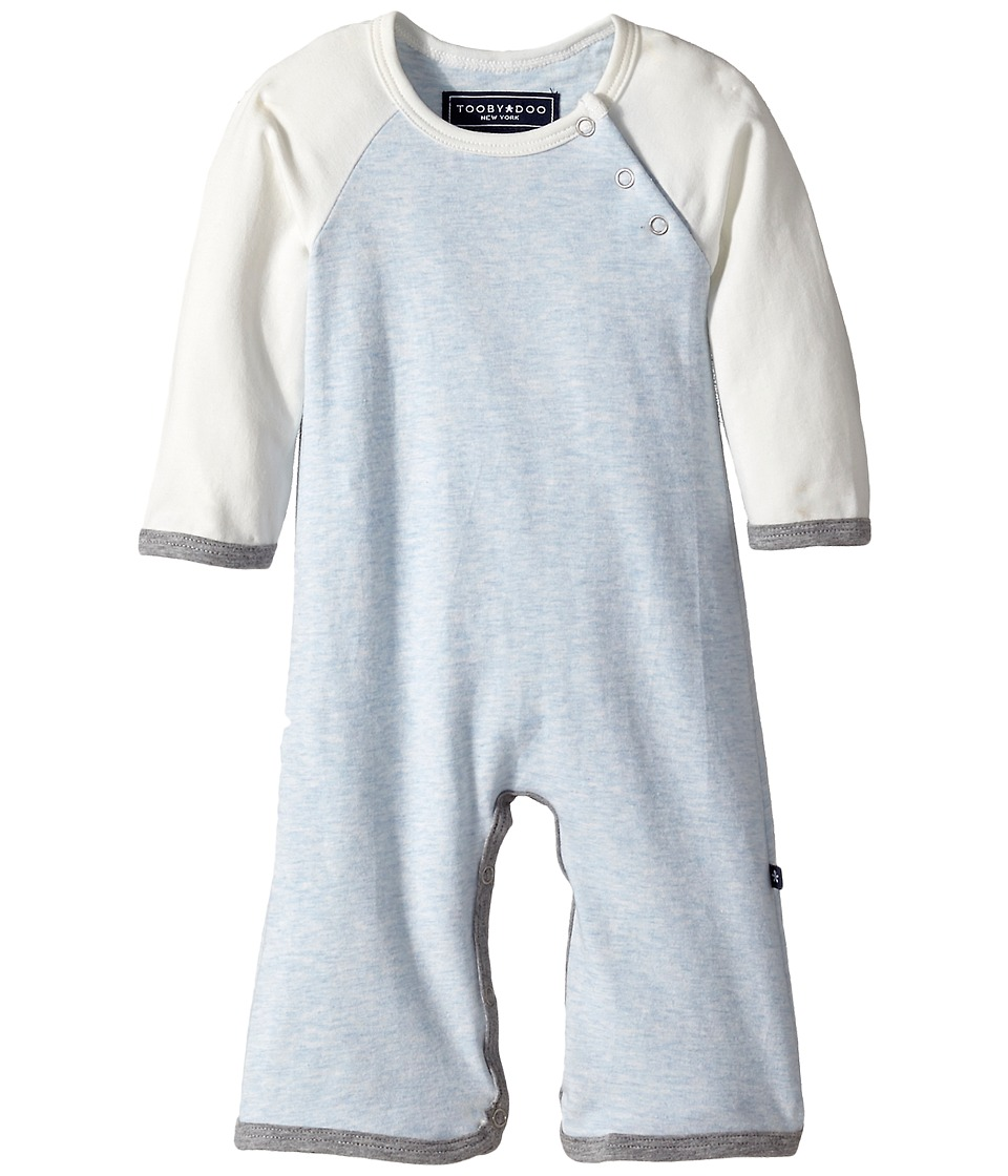 Toobydoo - Quinn Bootcut Jumpsuit (Infant) (Light Blue) Boy's Jumpsuit & Rompers One Piece