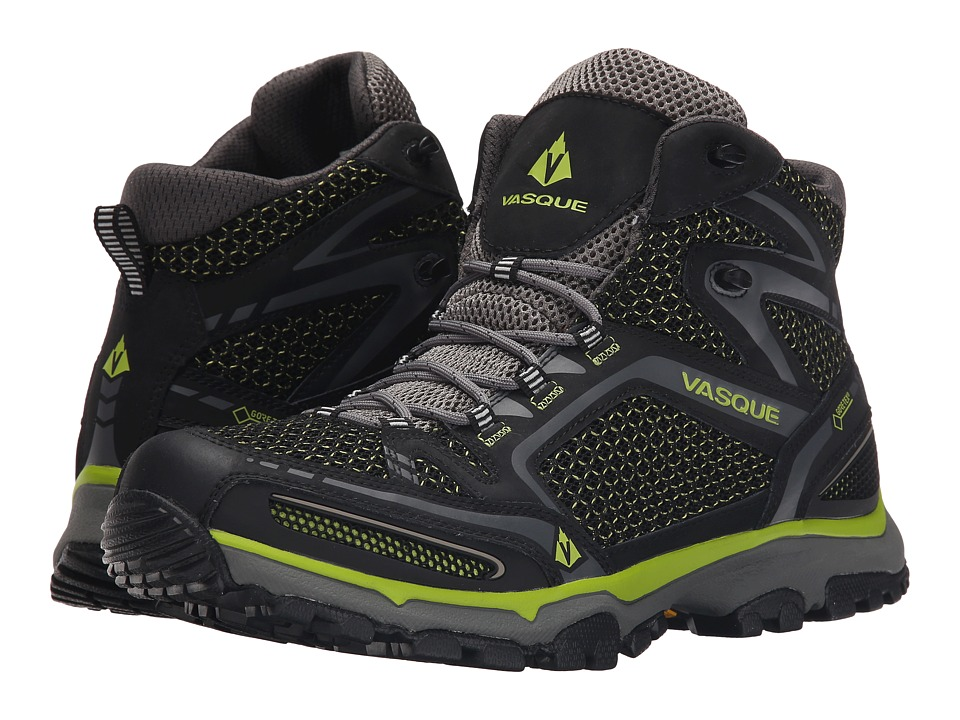 Vasque - Inhaler II GTX (Black/Lime) Men's Boots