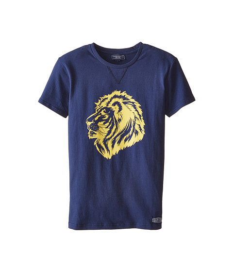 Toobydoo - King of the Jungle 2 Tee (Infant/Toddler/Little Kids/Big Kids) (Navy) Boy's T Shirt