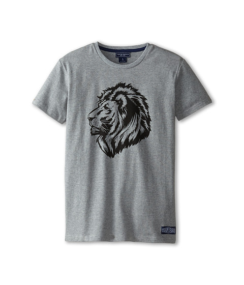 Toobydoo - King of the Jungle Tee (Infant/Toddler/Little Kids/Big Kids) (Grey) Boy's T Shirt