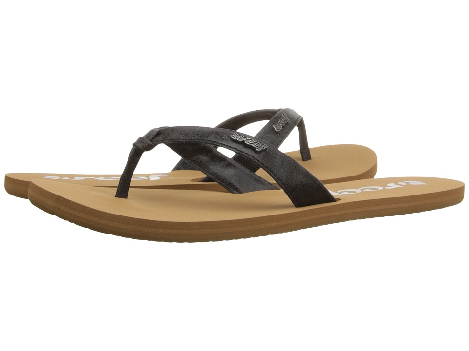 Reef - Cape (Black) Women's Sandals