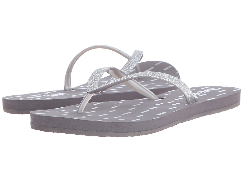 Reef - Stargazer Prints (Grey) Women's Sandals