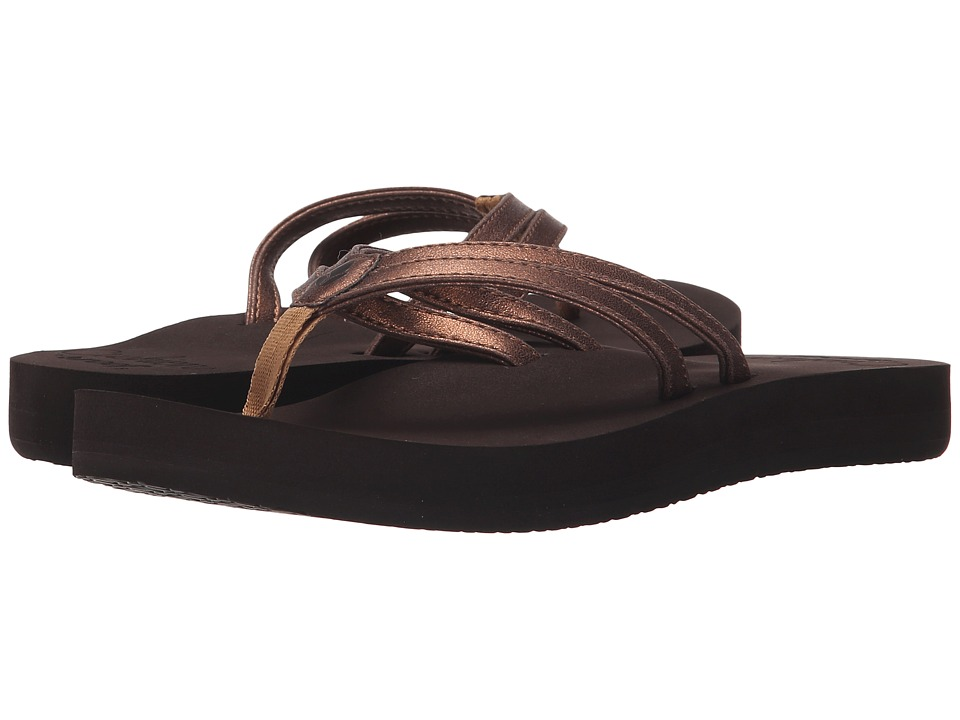 Reef - Cushion Twin (Bronze) Women's Sandals