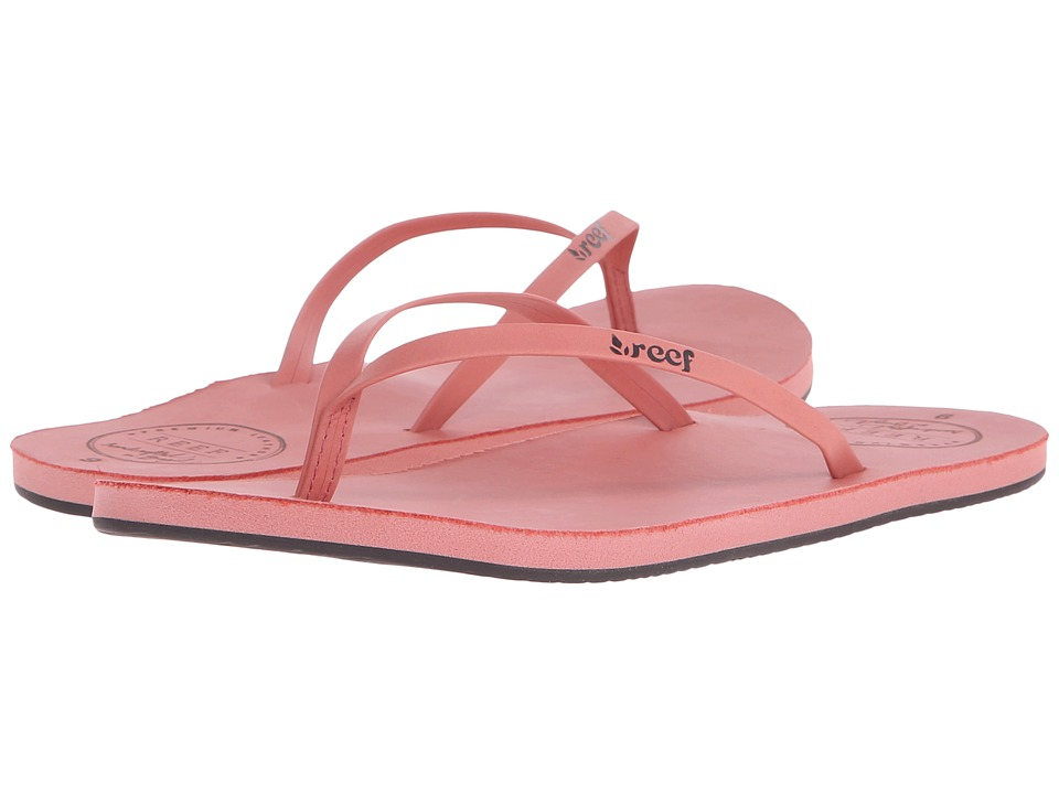 Reef - Leather Uptown (Blush) Women's Sandals