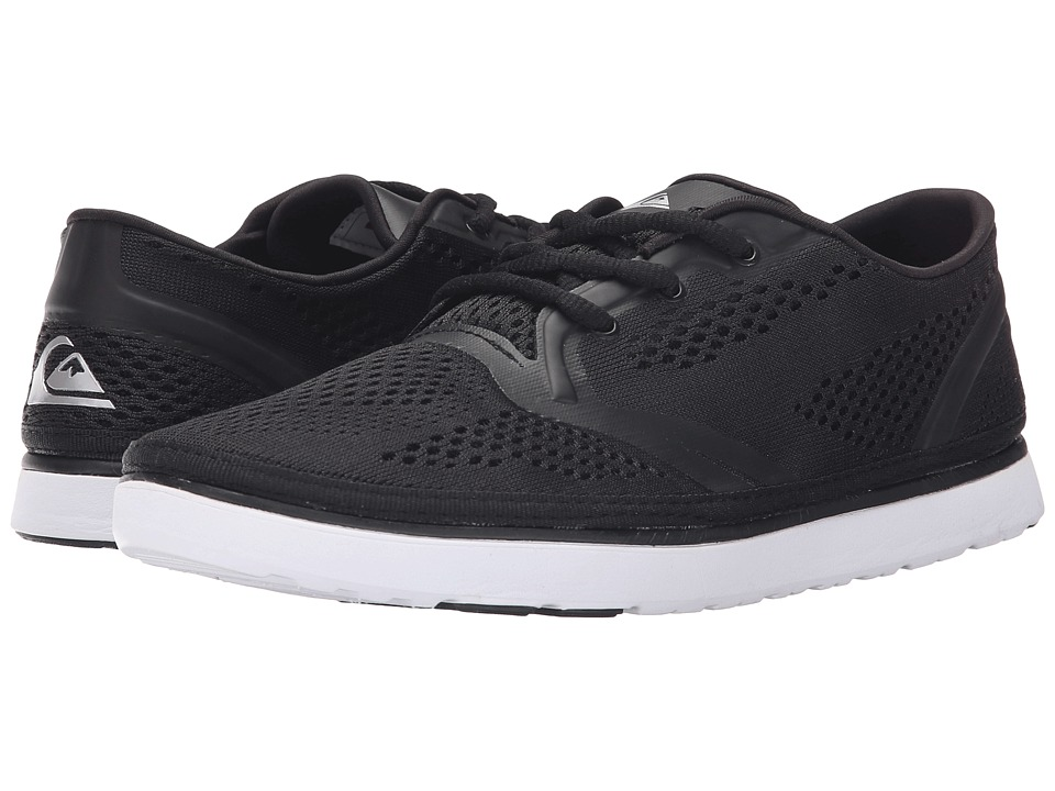 Quiksilver - AG47 Amphibian Shoe (Black/Black/White) Men's Shoes
