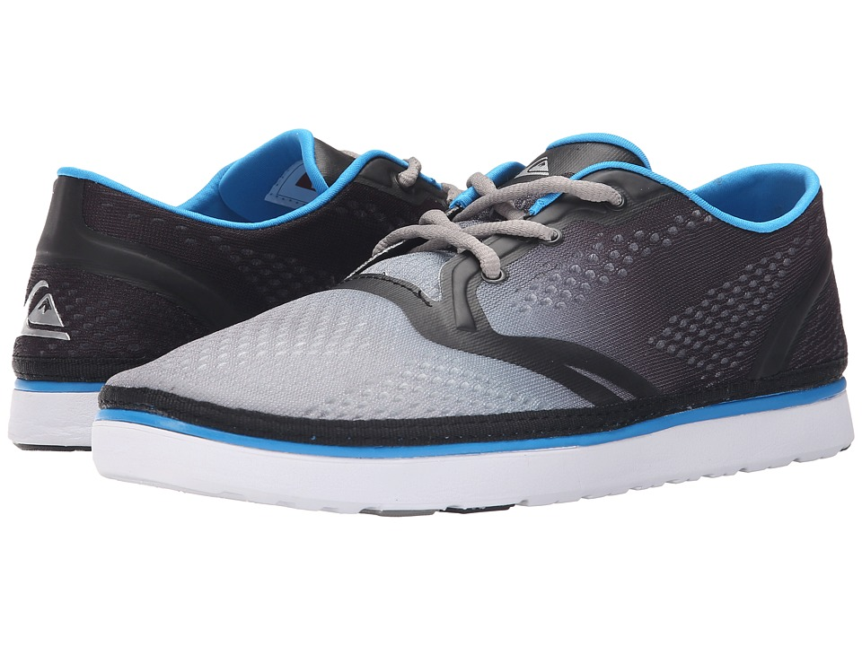 Quiksilver - AG47 Amphibian Shoe (Black/White/Blue) Men's Shoes