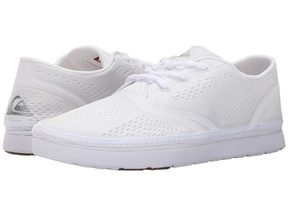 Quiksilver - AG47 Amphibian Shoe (White/White/White) Men's Shoes