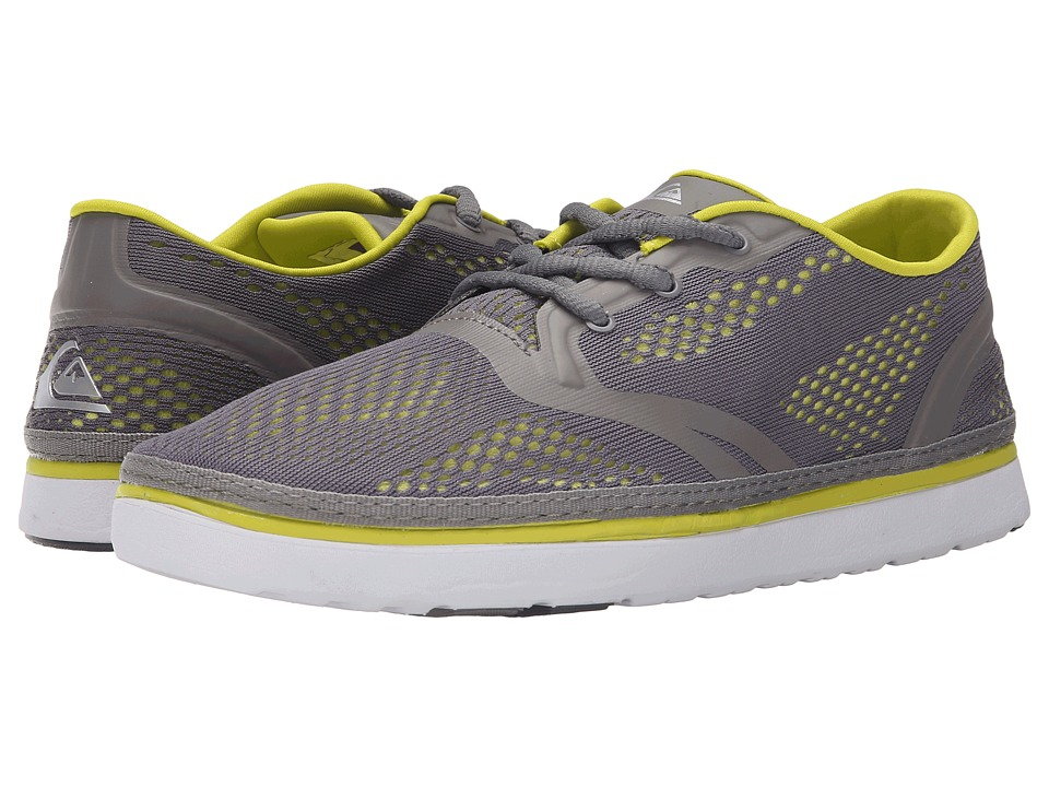 Quiksilver - AG47 Amphibian Shoe (Grey/Grey/Green) Men's Shoes