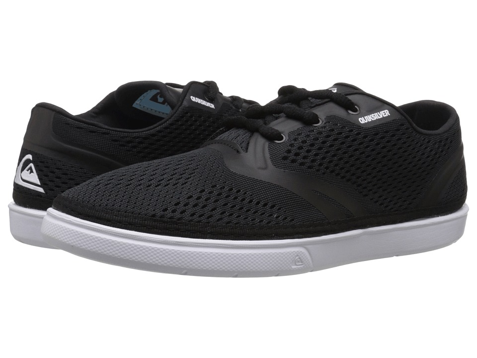Quiksilver - Oceanside (Black/Black/White) Men's Shoes