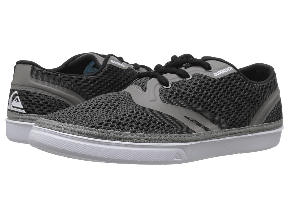 Quiksilver - Oceanside (Grey/Grey/White) Men's Shoes