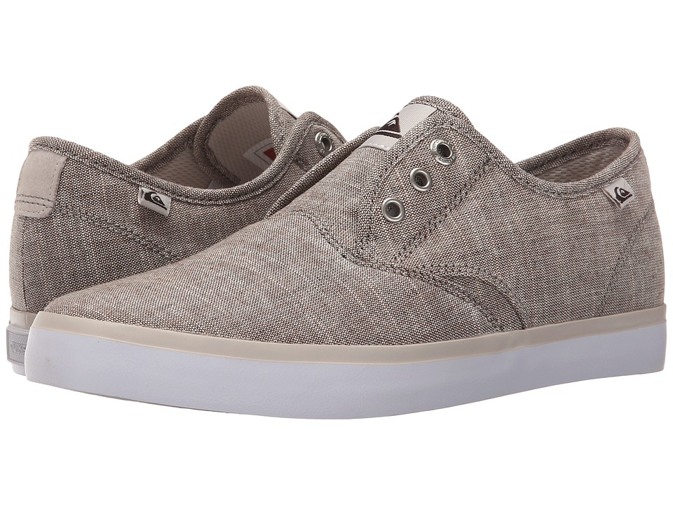 Quiksilver - Shorebreak Deluxe (Grey/White/Grey) Men's Lace up casual Shoes