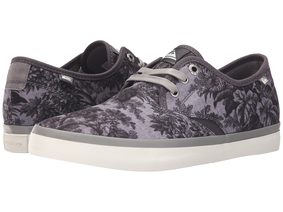 Quiksilver - Shorebreak Deluxe (Black/White/Grey) Men's Lace up casual Shoes