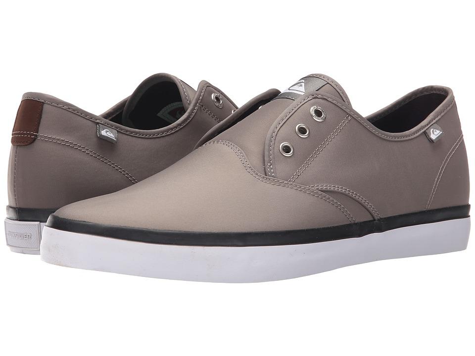 Quiksilver - Shorebreak Nylon (Grey/Grey/White) Men's Lace up casual Shoes
