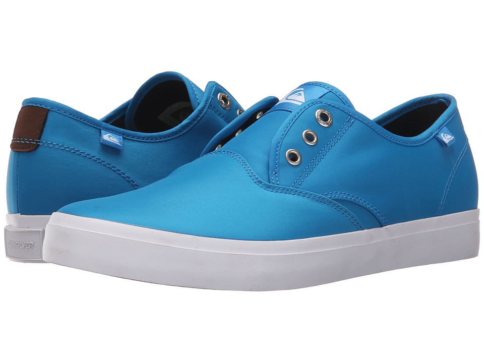Quiksilver - Shorebreak Nylon (Blue/Blue/White) Men's Lace up casual Shoes