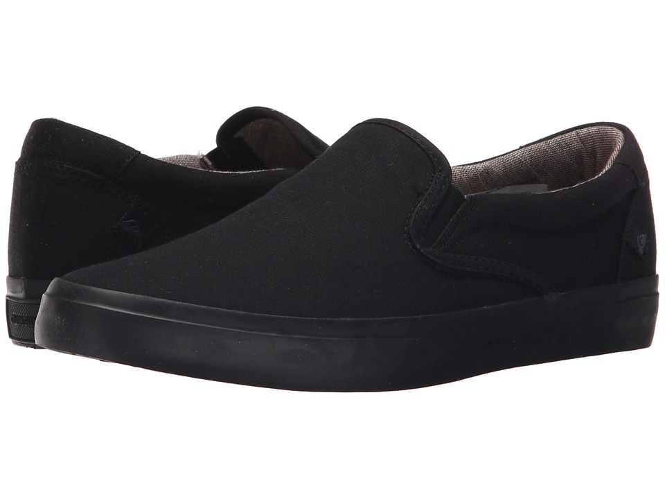 Quiksilver - Shorebreak Slip-On (Solid Black) Men's Slip on Shoes