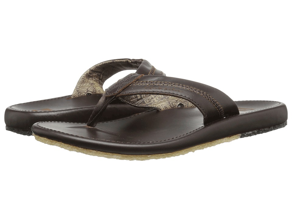 Quiksilver - Corsica (Brown/Brown/Brown) Men's Sandals