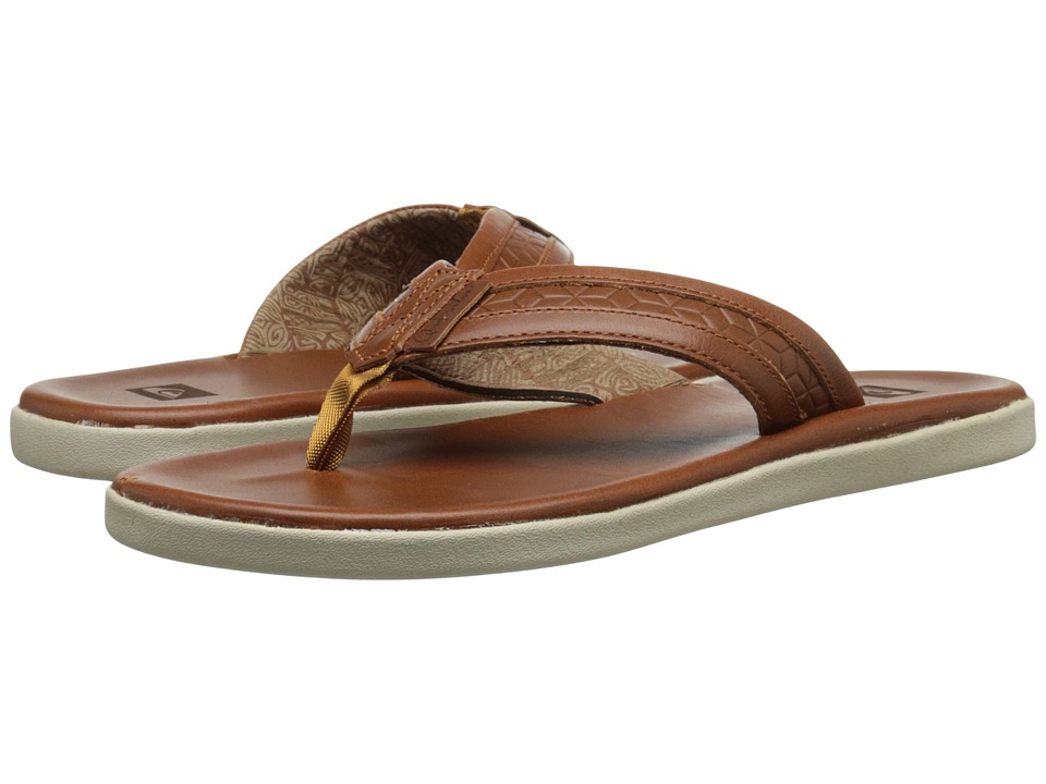 Quiksilver - Marcos (Brown/Brown/Orange) Men's Sandals
