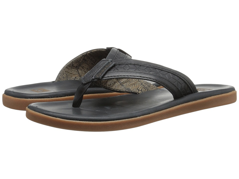 Quiksilver - Marcos (Black/Brown/Black) Men's Sandals