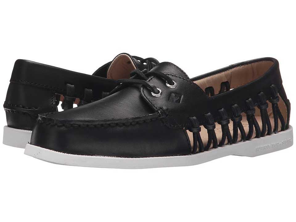 Sperry - A/O Haven (Black) Women's Lace up casual Shoes