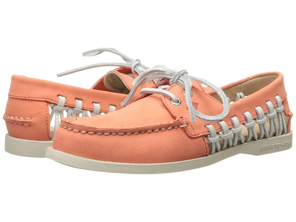 Sperry Top-Sider - A/O Haven (Coral) Women's Lace up casual Shoes