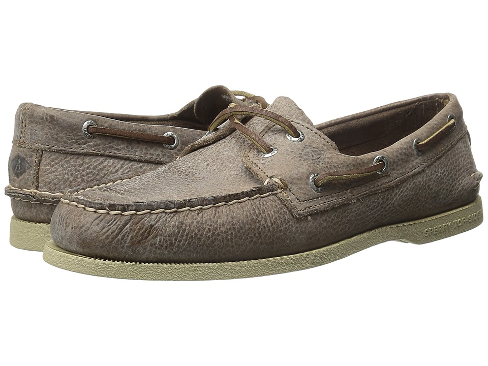 Sperry - A/O 2-Eye Rancher (Brown) Men's Lace up casual Shoes