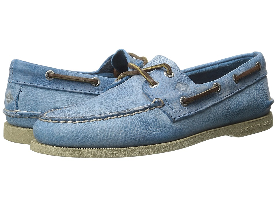 Sperry Top-Sider - A/O 2-Eye Rancher (Blue) Men's Lace up casual Shoes