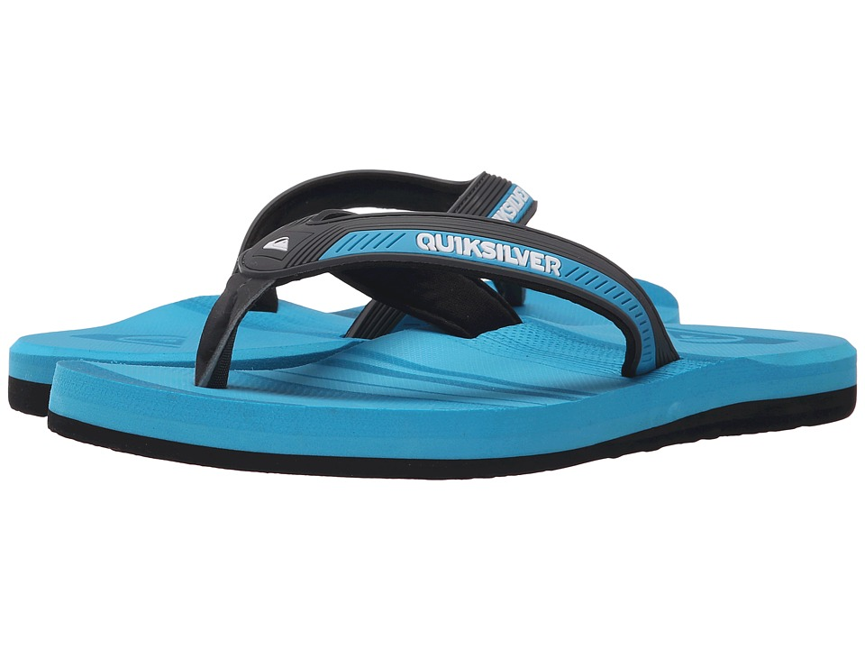 Quiksilver - Meditation (Grey/Blue/Blue) Men's Sandals