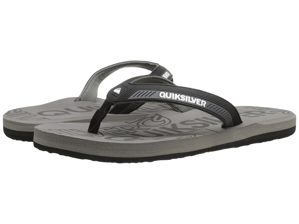Quiksilver - Meditation (Black/Black/Grey) Men's Sandals
