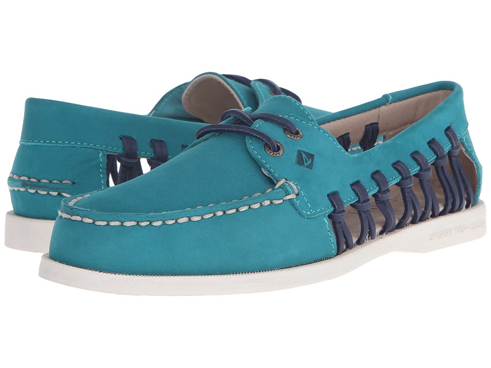 Sperry Top-Sider - A/O Haven (Teal) Women's Lace up casual Shoes
