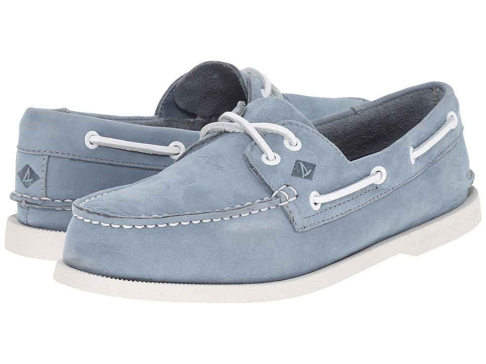 Sperry Top-Sider A/O 2-Eye Washable (Slate Blue Nubuck) Men