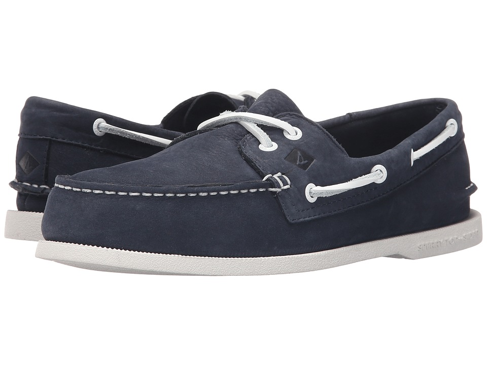Sperry - A/O 2-Eye Washable (Navy Nubuck) Men's Lace up casual Shoes