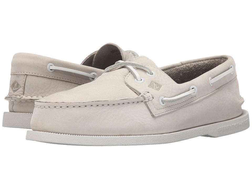 Sperry Top-Sider A/O 2-Eye Washable (Bone Nubuck) Men